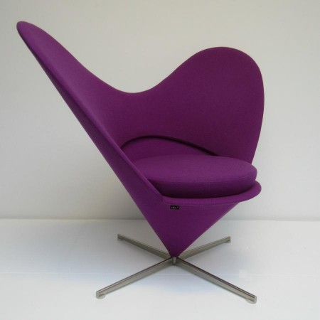 Heart Cone Chair Verner Panton Vitra