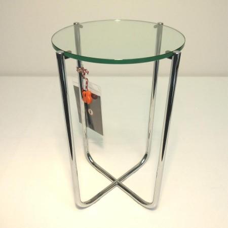 GT 411 bijzettafel chroom glas Gispen Today