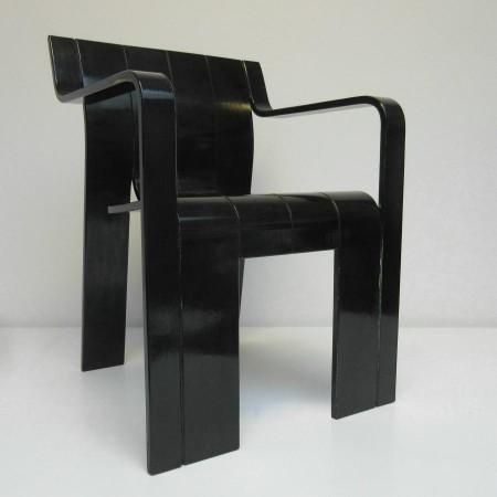 2x Stripstoel / Gijs Bakker