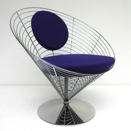 Wire Cone Chair Panton