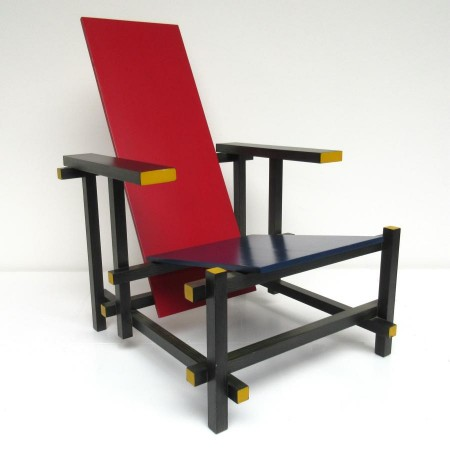 Red and Blue Rietveld Cassina
