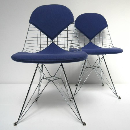 Eames DKR wire chair Herman Miller