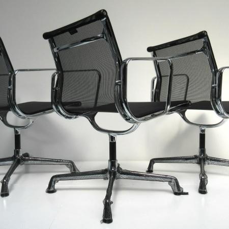 4x Eames EA 108 netweave / Vitra