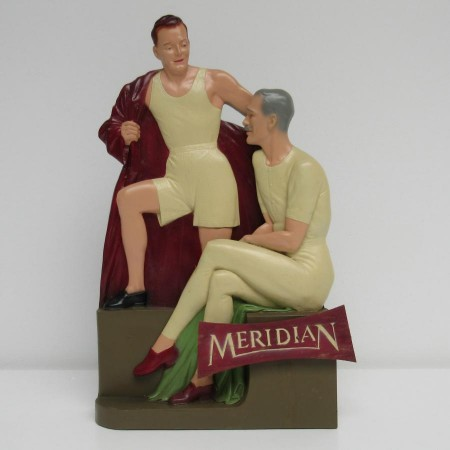 Meridian underwear advertising item