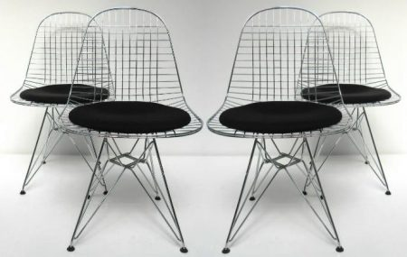 Eames DKR wire chair 4x Vitra