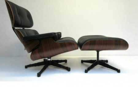 Eames Lounge Chair & Ottoman Palissander