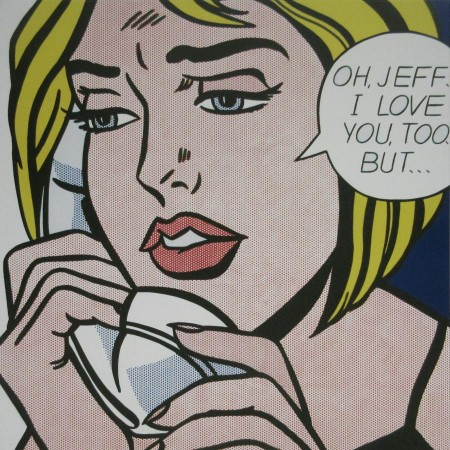 "Roy Lichtenstein ""oh Jeff …"""