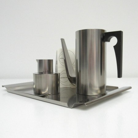 Arne Jacobsen Stelton Cylinda Coffee set