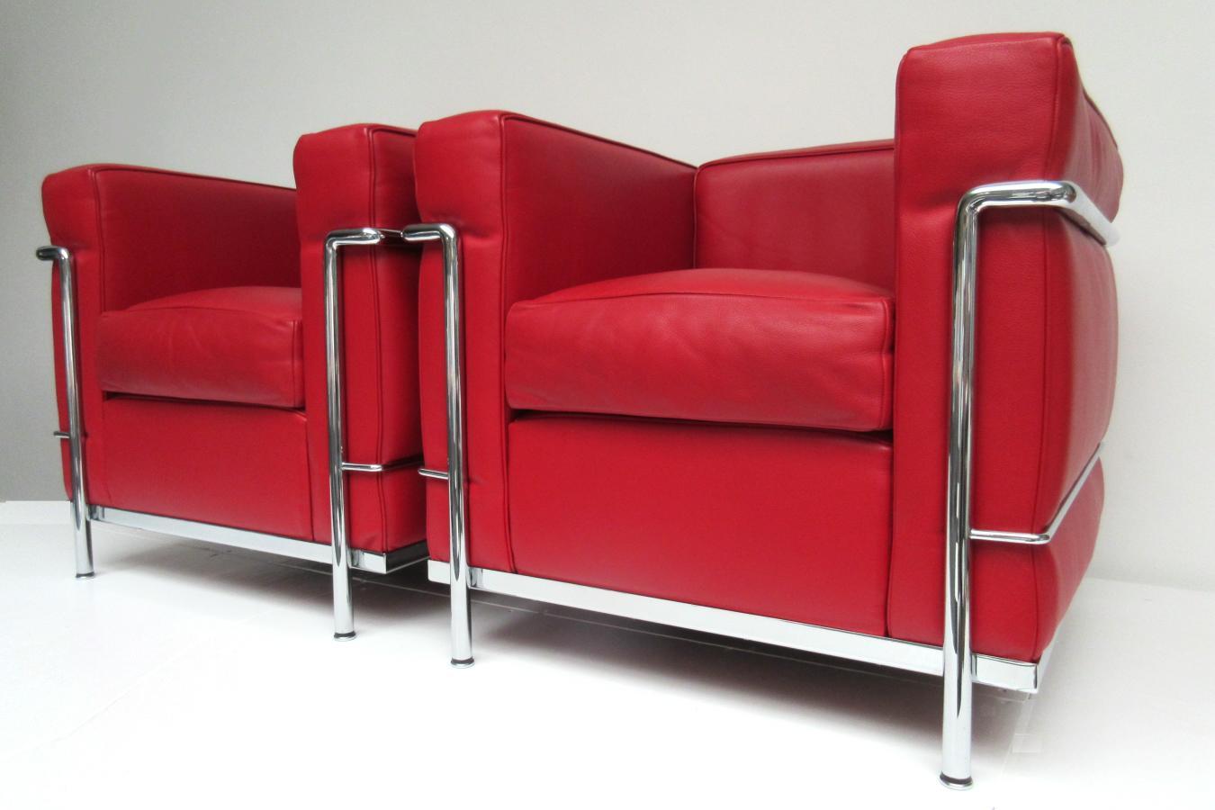 hello design classics le corbusier fauteuil lc2 cassina. Black Bedroom Furniture Sets. Home Design Ideas