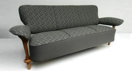 Artifort / Theo Ruth bank en fauteuil