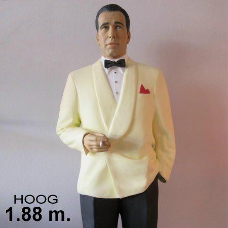 Humphrey Bogart / beeld uit Casablanca