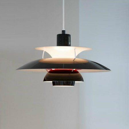 PH50 hanglamp Louis Poulsen olive black