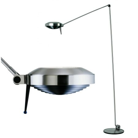 Elle 2 lamp nickel gesatineerd Lumina