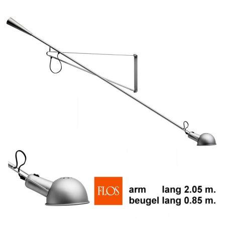 Flos model 265 Paolo Rizzatto wandlamp