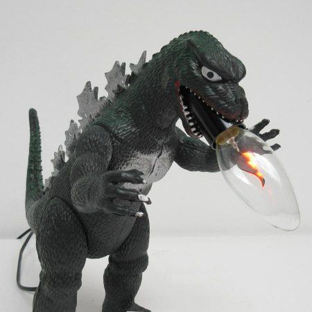Godzilla lamp Imperial 1985