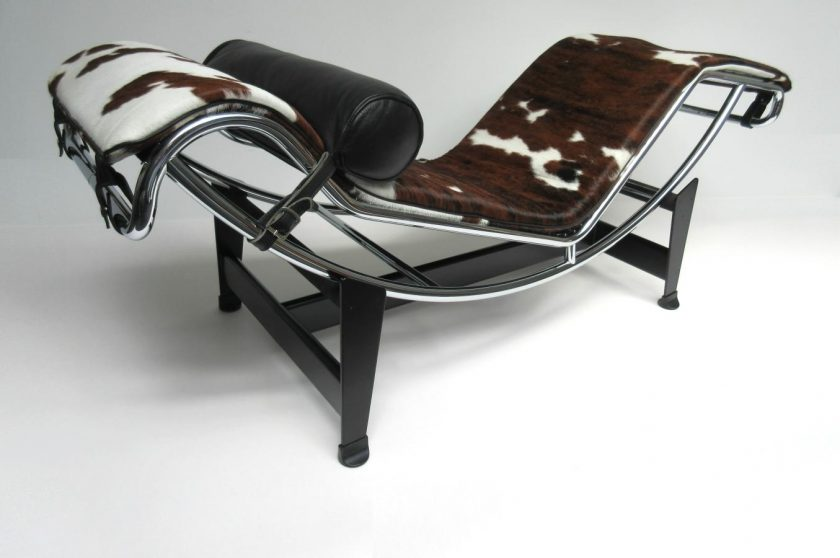 Corbusier chaise cassina lc1 sessel von le corbusier for Chaise longue pony lc4 le corbusier