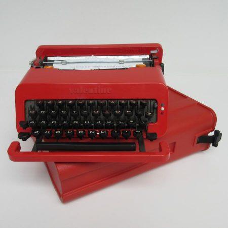 Valentine typewriter Ettore Sottsass Olivetti