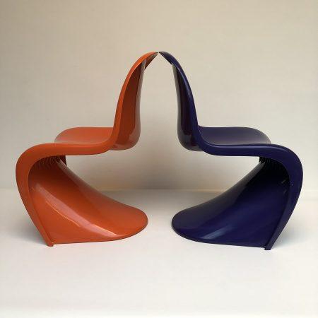 Verner Panton Herman Miller chairs