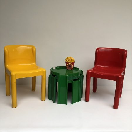 Carlo Bartoli Kartell stoelen