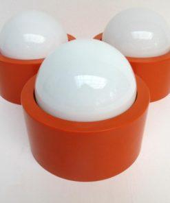 3x-oranje-plafondlamp-A-450x450