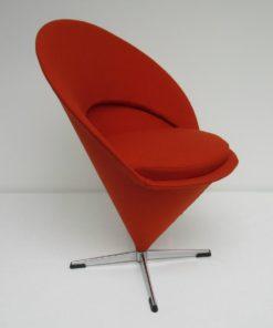 Cone Chair Verner Panton Fritz Hansen oranje 1