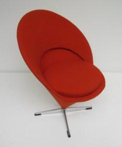 Cone Chair Verner Panton Fritz Hansen oranje 2