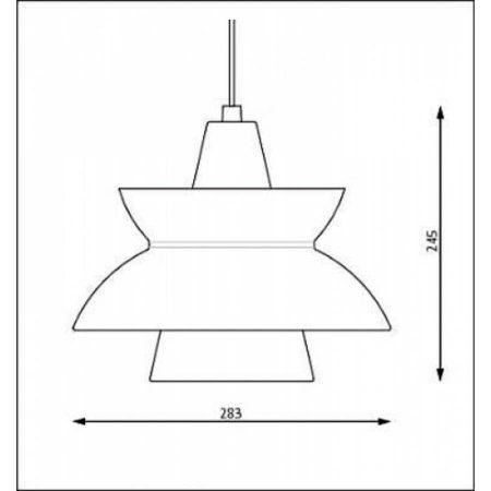 Doo-Wop-lamp-Louis-Poulsen-rood-E
