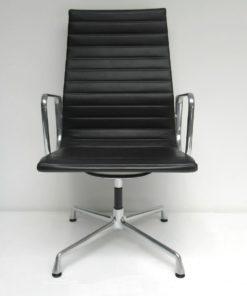 EA108-special-Eames-Vitra-leder-zwart-hoge-rug-A