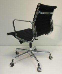 Eames Ea 117 Bureaustoel.Eames Ea 117 Bureaustoel Hopsak Zwart Vitra Hello Design Classics