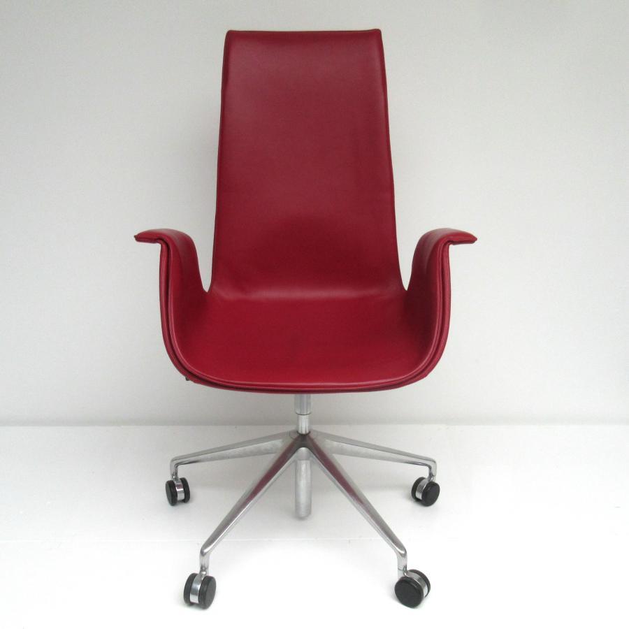 Walter Knoll Bureaustoel.Fk Bucket Seat Chair Fabricius Kastholm Walter Knoll