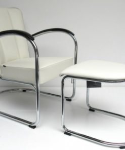 Gispen 412 Fauteuil Met Hocker Dutch Originals 2