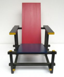 RED AND BLUE RIETVELD CASSINA 4