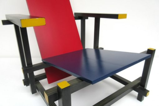 RED AND BLUE RIETVELD CASSINA 6