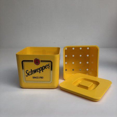 Vintage IJskoeler Schweppes