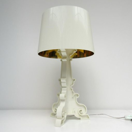 BOURGIE LAMP WIT GOUD KARTELL-1