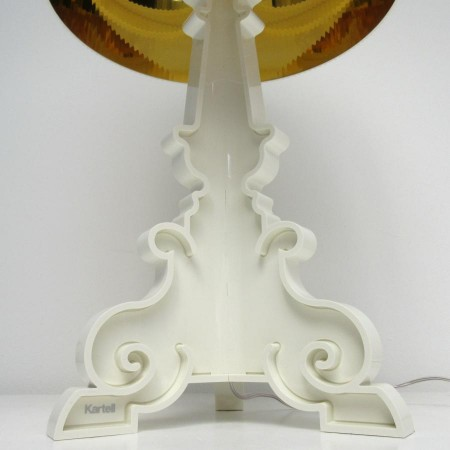 BOURGIE LAMP WIT GOUD KARTELL-2