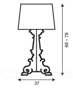 Bourgie-Kartell-Transparant-B4-D