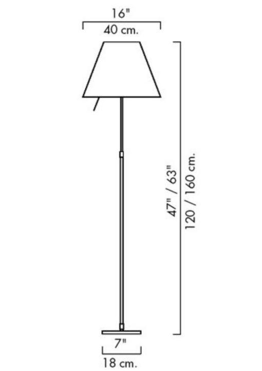 Costanza Vloerlamp Luceplan-4