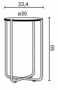 GT 411 BIJZETTAFEL CHROOM GLAS GISPEN TODAY-4