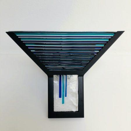 Wandlamp Murano glas jaren'80