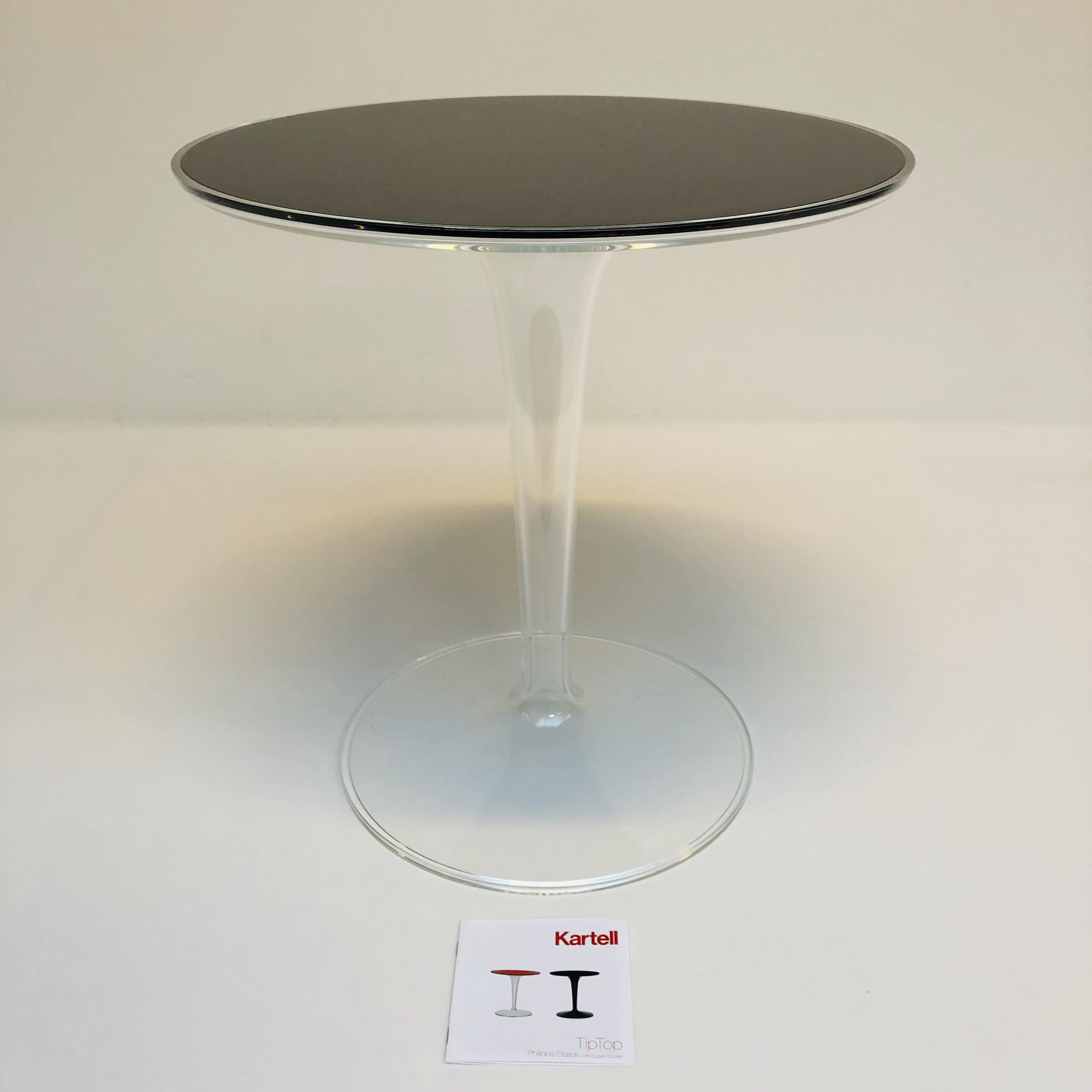 Design Bijzettafel Kartell.Tiptop Bijzettafel Van Philippe Starck Voor Kartell